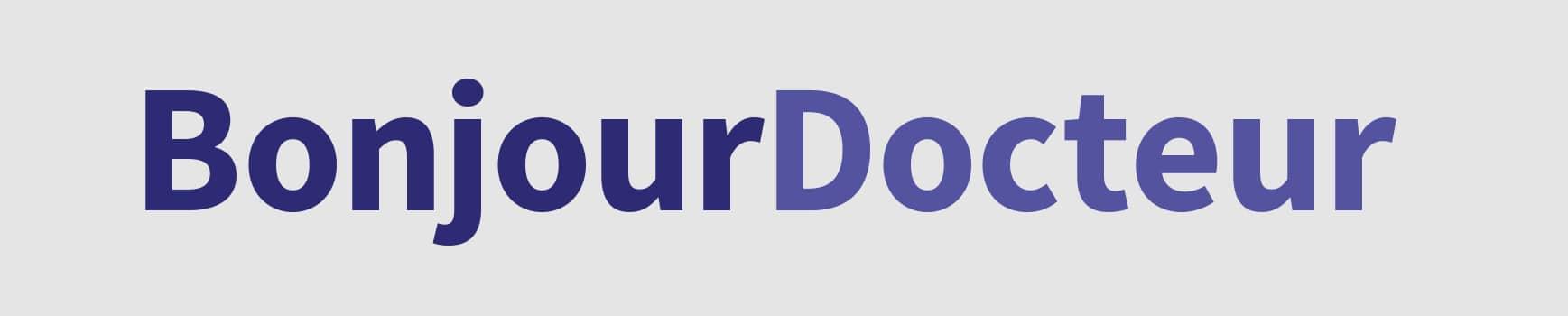 AXA BONJOUR DOCTEUR Bandeau Logo