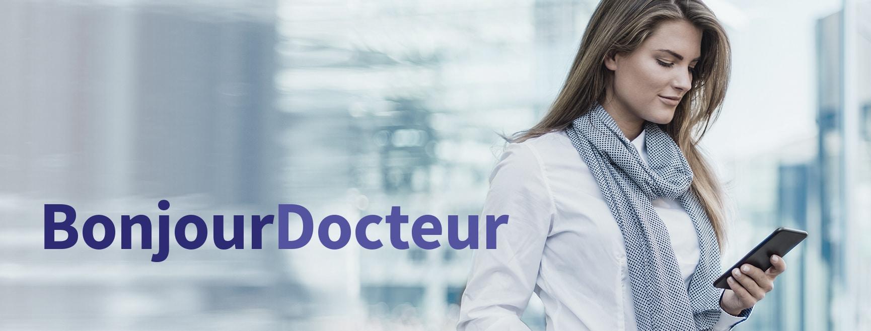 AXA BONJOUR DOCTEUR Bandeau Visuel